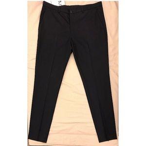 Zara Suit Pants, Navy